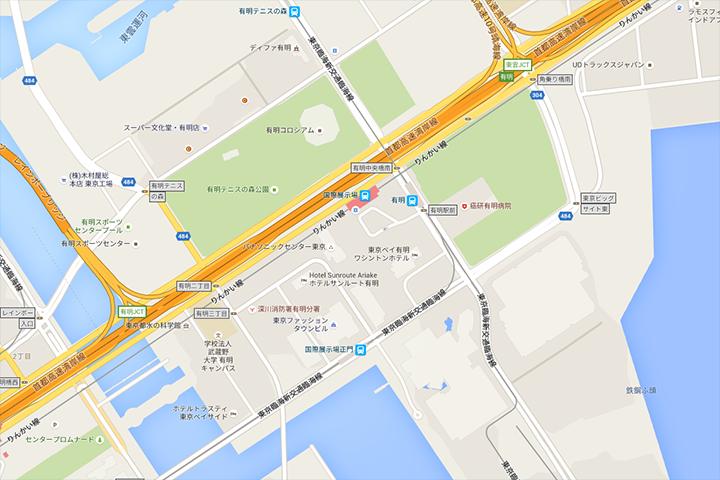 上映会場へのアクセス・地図 12/17(土)16:30