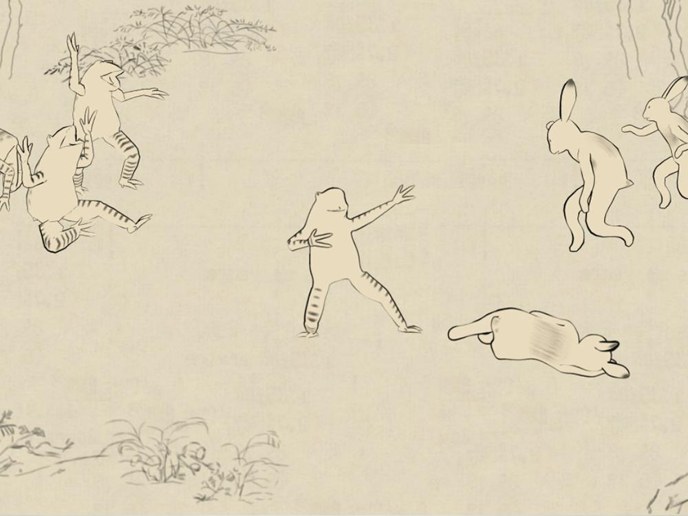 Vol.0 作品 「鳥獣たちの春夏秋冬」